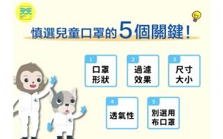 買兒童口罩一定要注意的 5個關鍵!